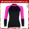 Long Sleeve Un Loose Rash Guards for Ladies (ELTRGI-36)