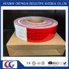 DOT C2 Pet Reflective Tape Red and White with Crystal Lattice Film