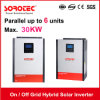 Grid Tied Solar Power Inverters with Battery Pack