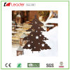 Metal Christmas Tree Silhouette Garden Stake for Christmas Gifts and Decoration