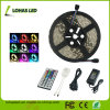 Non Waterproof 5m 12V SMD5050 RGB LED Strip Light Kit