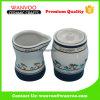 Handmade Ceramic Sugar and Milk Jar on Decal Finished