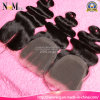 Aliexpress Lace Closures Brazilian Virgin Hair Body Weave Style Natural off Black or Dark Brown DHL Free Shipping New Light