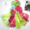 Large Size Sunscreen Printed Beach Fashion Lady Silk Scarves