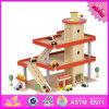 2016 Wholesale Toddlers Wooden Toy Car Garage, New Kids Wooden Toy Car Garage, Best Children Wooden Toy Car Garage W04b038