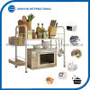Microwave Oven Rack with 2 Baskets