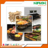 Wooden Hypermarket Best Display Stand for Vegetables and Fruits