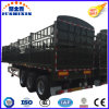 ISO CCC 32tons Tri-Axle Cargo Stake Truck Trailer
