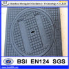 MBC SGS Inspection Composite Fireprooof Lockable Manhole Cover