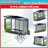 Green Solar Panel Power Public Bus Shelter/ Bus Station/Bus Stop