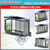 Green Solar Panel Power Public Bus Shelter/ Bus Station/Bus Stop