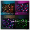 RGB Tricolor 3 in 1 LED Star Cloth / Curtain with CE Fireproof