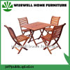 Wood Folding Square Garden Furniture Set