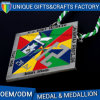 Zinc Alloy Sports Medal with Soft Enamel Made in China
