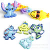 Cartoon Fashion Siliconekid Shoe Charms