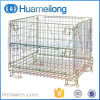 Steel Warehouse Folding Wire Warehouse Cages