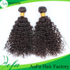 Curly Human Hair Weft Indian Hair Weave Remy Hair