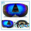 Customized Magnetic Interchangeable PC Lens Square Ski Goggles