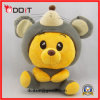 Plush Stuffed Animal Mouse Toy with Clothes