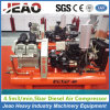 2V4.0/5 Piston Driven Air Compressor with Jack Hammer for Building Road