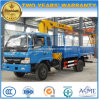 6 Wheels 4 Tons Telescopic Crane Loading Truck Mounted with XCMG Crane for Export