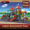Most Popular Plastic Outdoor Playground for Preschool with Certificate