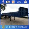 3axle Flatbed Container Trailer Cargo Semi Trailer