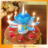 Popular Lotus Music Candle Happy Birthday