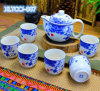 Factory Fashion design Porcelain Tea Set