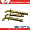 Yellow Zinc Plated Carbon Steel External Roece Expansion Anchor Bolt Type a, J Bolt