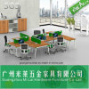 Modern Office Furniture Partition Staff Table with Paiting Frame