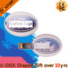 Custom Gift Oval Card USB Flash Drive (YT-3120)
