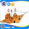 Outdoor Wooden Ship Playground Equipment (YL21734-04)