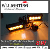 8 LED Grill Light Warning Emergency Lights 5′′ Amber