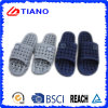 Simple Style with Smile Rubber Patch PVC Bathroom Slippers (TNK35772)