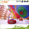 Forest Style Indoor Playground Project Plastic Slide and Fiberglass