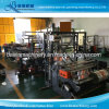 Three Lines Production Three Side Seal Pouch Making Machine