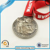Sports Custom Logo Coin Metal Medals with Lanyard