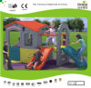 Kaiqi Cute and Colourful Playhouse and Playground with Slide (KQ50130B)