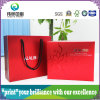 UV Square Paper Packaging Box Printing with Hand-Held Paper Bag