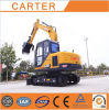 CT85-8b (8.5T) Backhoe Excavator with Rubber Tracks/Pads