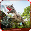 Life Size Theme Park Animatronic Dinosaur Toy with Voice