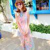 Ms New Summer Beach Dress Chiffon Printing Scarf