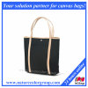 Practical and Elegant Canvas Tote Handbag