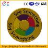 Custom Soft Enamel Paint Badge with Words Logo