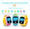 Colorful Touch-Screen Smart Child/Kids GPS Tracker Watch with Geo-Fence Y8