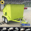 Heavy Wheeling New Coming Mobile Skip Bin Trailer (SWT-BT4)