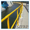 Fiberglass Security Fence Panel FRP Road Safety Fence Post