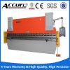 Full CNC Press Brake with 5 Axis (Y1, Y2, X, R, V) Delem Da-66t CNC Controller MB8 100t Press Brake