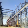 Wind Resistance Strong Steel Structure Warehouse with Crane Beam